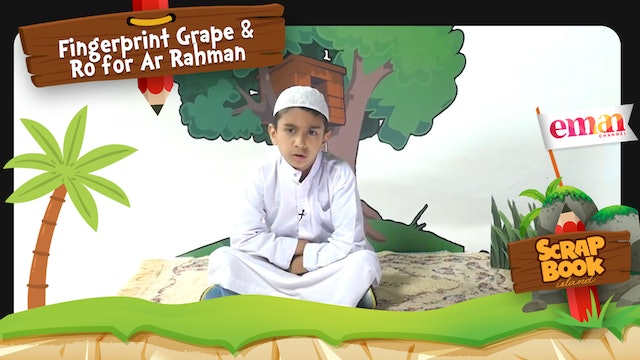 Fingerprint Grape and Ro for Ar Rahman