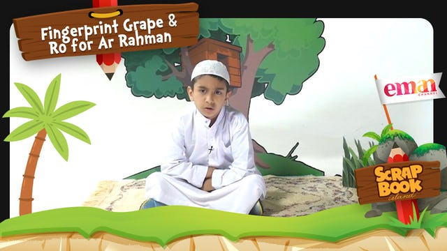 Fingerprint Grape and Ro for Ar Rahman
