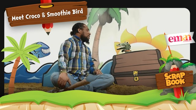 Meet Croco and Smoothie Bird
