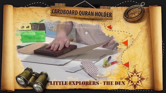 Cardboard Quran Holder