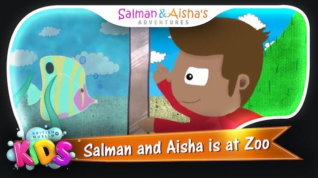 Salman and Aisha is at Zoo