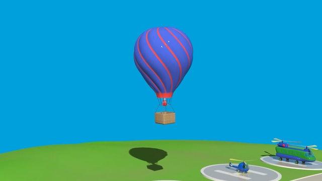 Hot Air Balloon >> Number 7