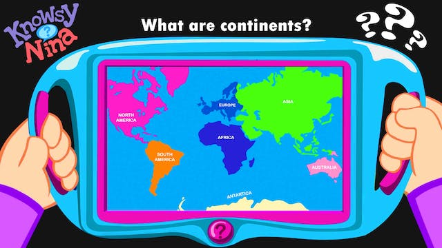 What are continents?
