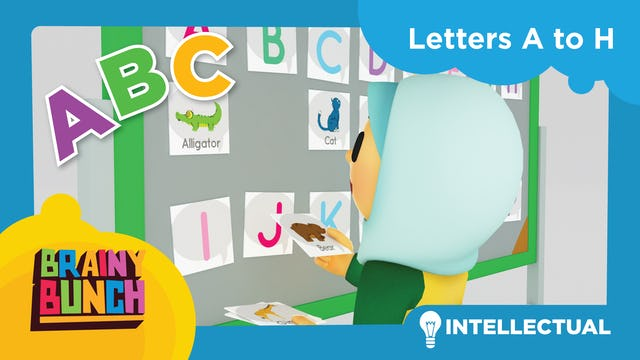 Alphabet Fun Letters A to H