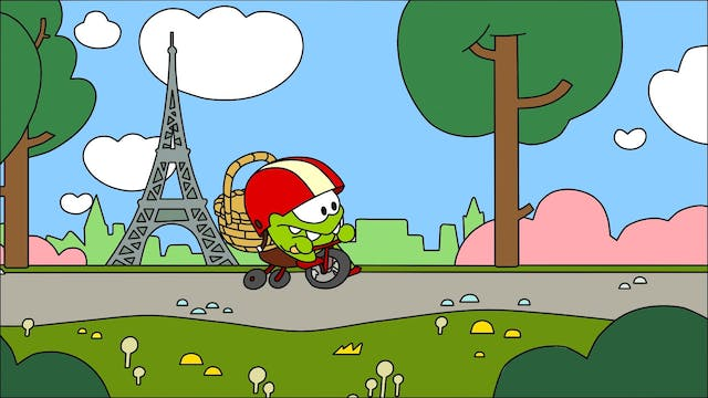 Coloring Book - Cycle Race