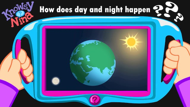 How does day and night happen?