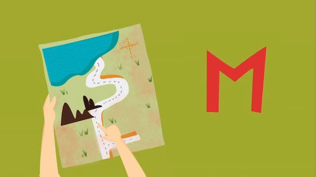 The M Song — Learn the Letters of the...