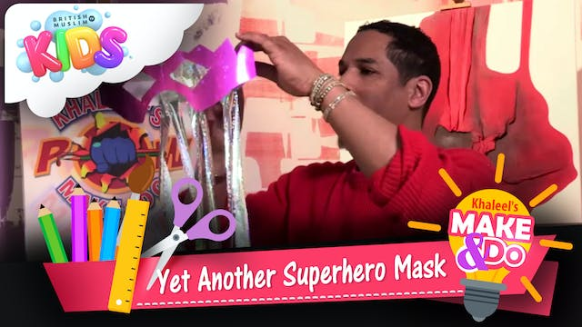 Yet Another Superhero Mask