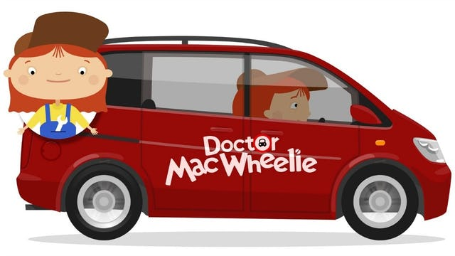 Doctor Mac Wheelie's New Car