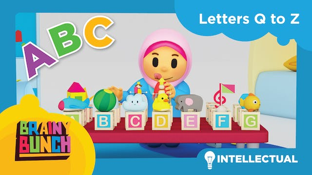 Alphabet Fun Letters Q to Z