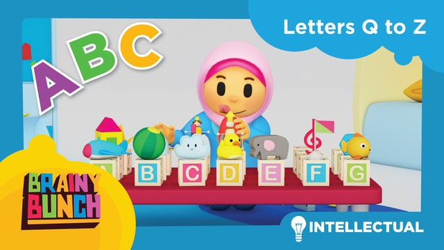 Alphabet Fun Letters Q to Z