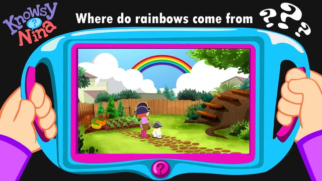 Where do rainbows come from?