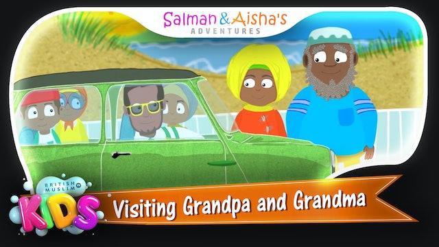 Visiting Grandpa and Grandma