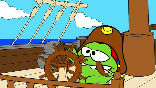 Coloring Book - Pirate Ship