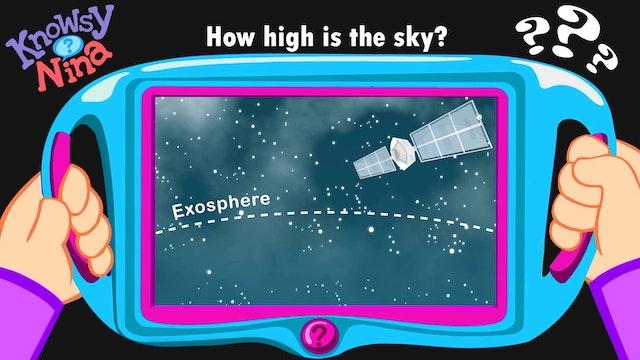 How high is the sky?