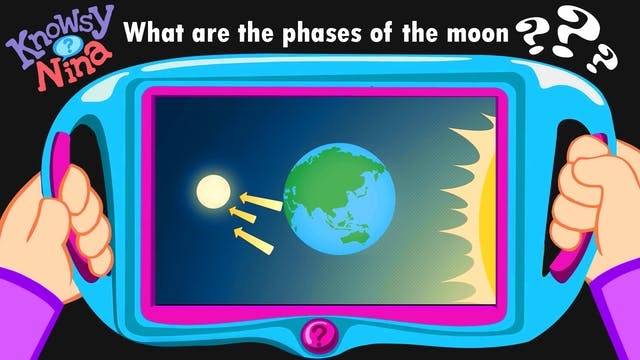 What are the phases of the moon?