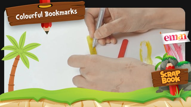 Colourful Bookmarks