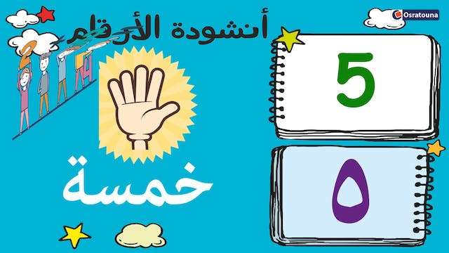 Learn Arabic Numbers 1 to 10