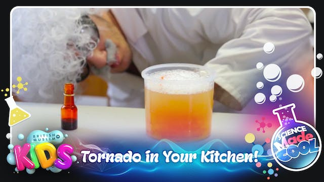 Tornado in Your Kitchen!