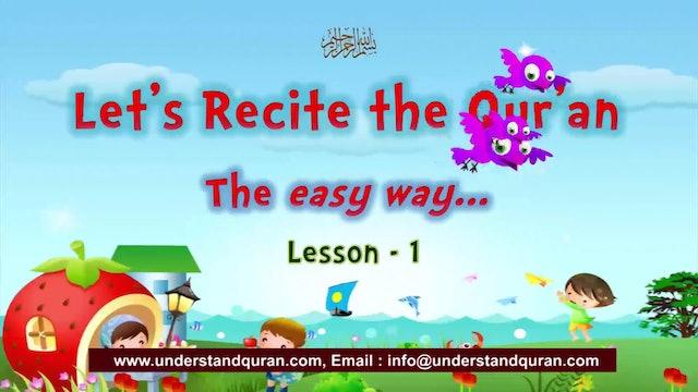 Kids - Read Quran - Lesson-01