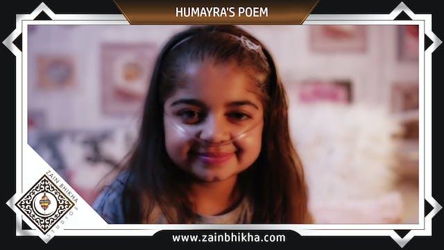 Humayra's Poem