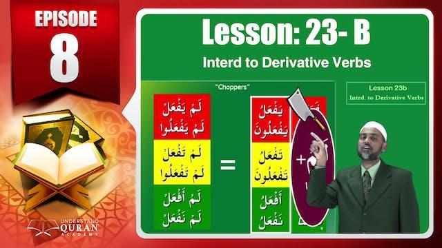 Lesson 23b- English Short course 2-Un...