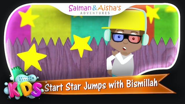 Start Star Jumps with Bismillah