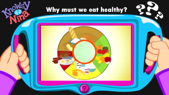 Why must we eat healthy?