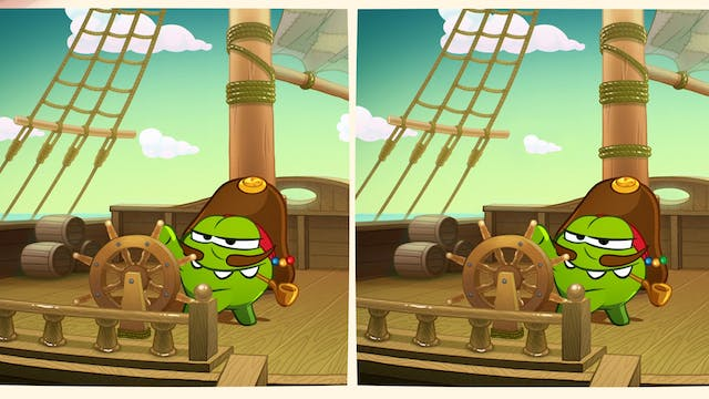 Spot the difference - Pirate Ship
