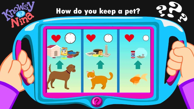 How do you keep a pet?