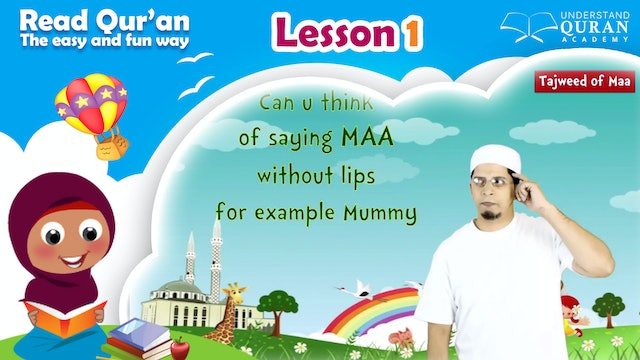 Kids - Read Quran - Lesson-01