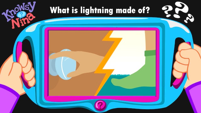 What is lightning made of?