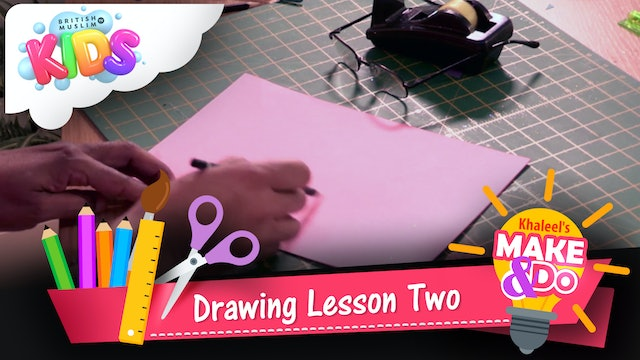 Drawing Lesson Two