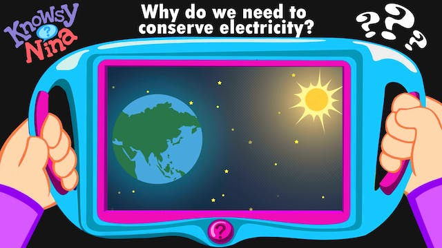 Why do we need to conserve electricity?