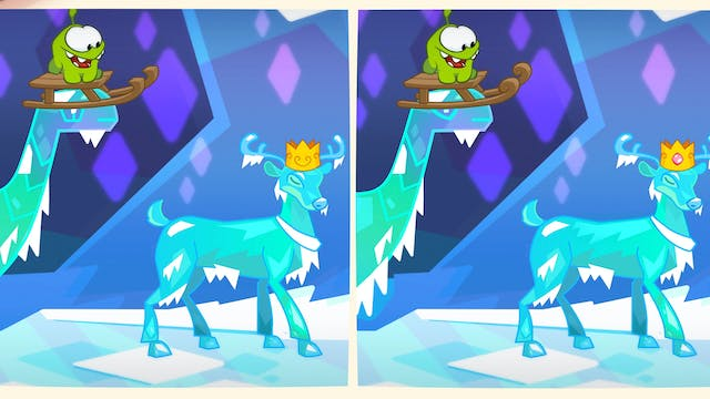 Spot the difference - Ice Cave