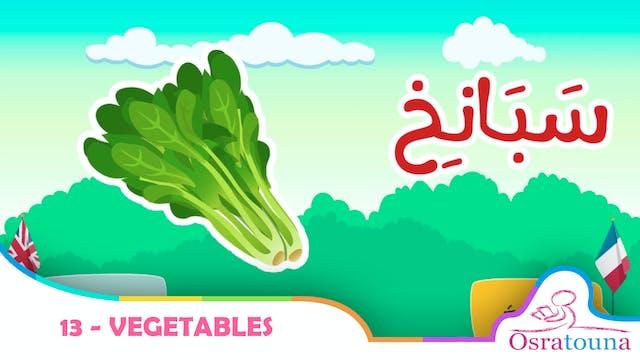 13 - Vegetables