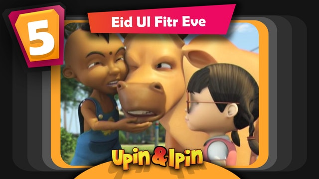 Upin & Ipin - Eid Ul Fitr Eve