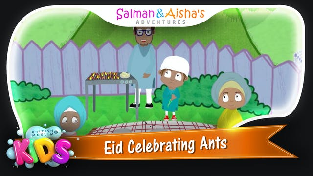 Eid Celebrating Ants