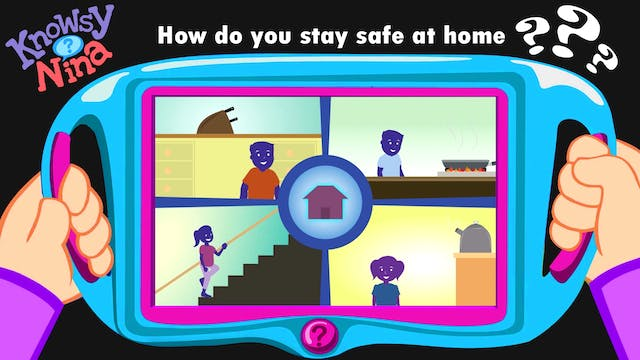 How do you stay safe at home?