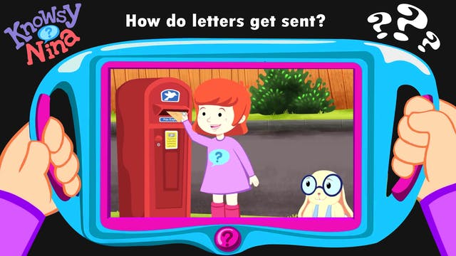 How do letters get sent?