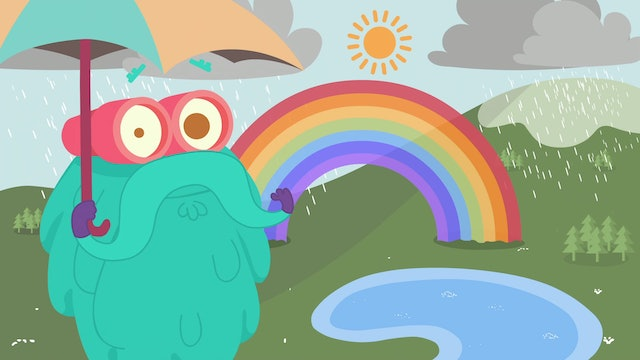 How Is A Rainbow Formed  The Dr. Binocs Show  Learn Videos For Kids...