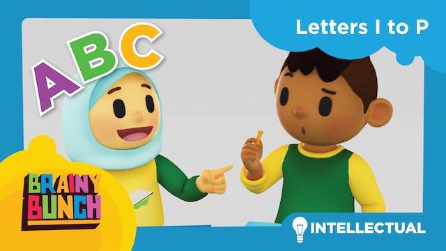 Alphabet Fun Letters I to P