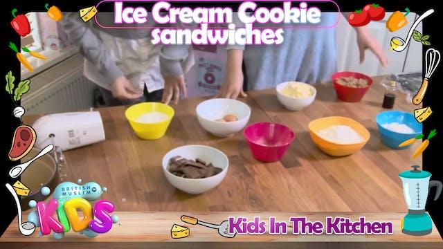 Ice Cream Cookie Sandwiches