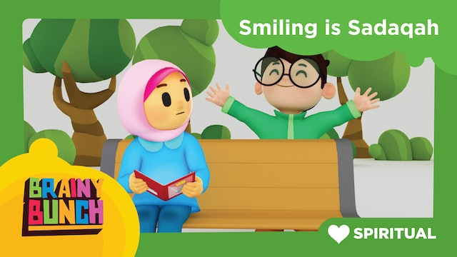 Smiling Is Sadaqah