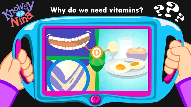 Why do we need vitamins?