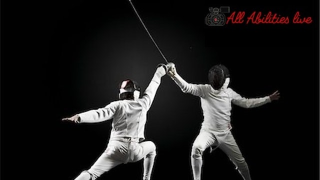 All Abilities Live Fitness and Sports Tuesday Fencing Session