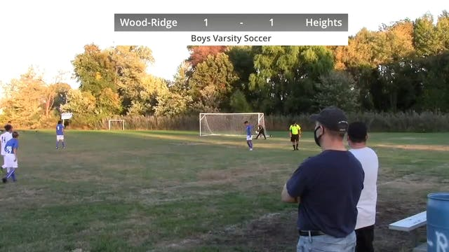 Boys Varsity Soccer - Heights vs Wood...