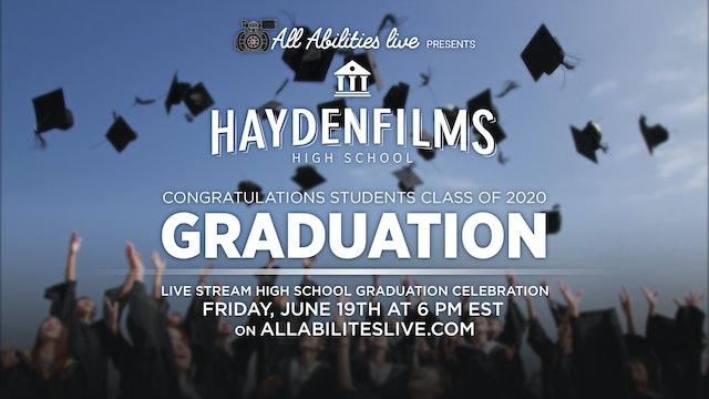 All Abilities Live Virtual Graduation Sample