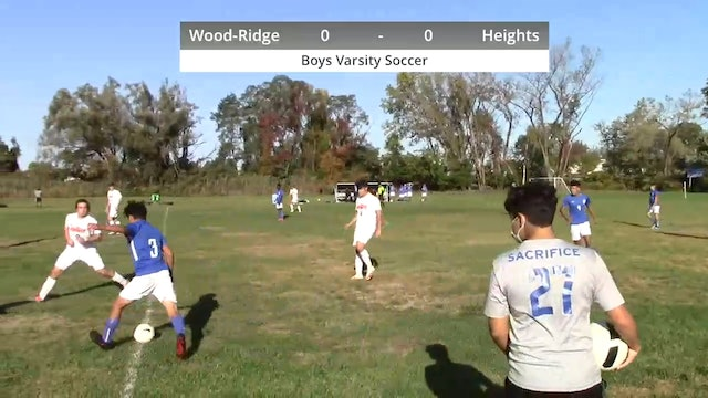 Boys Varsity Soccer - Heights vs Wood-Ridge