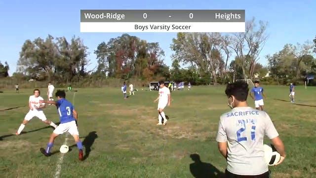 Boys Varsity Soccer - Heights vs Wood...
